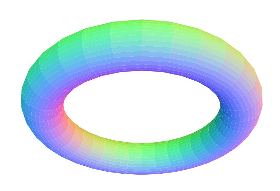 torus where R:r = 5:1