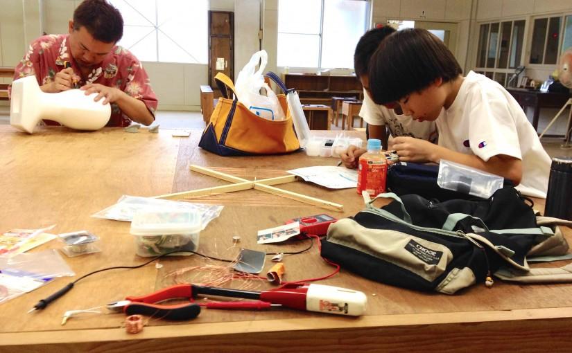 神山で電子工作クラブ始めました