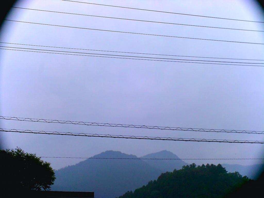 山から見た景色