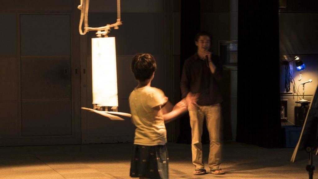 デジタル襖カラクリ公演